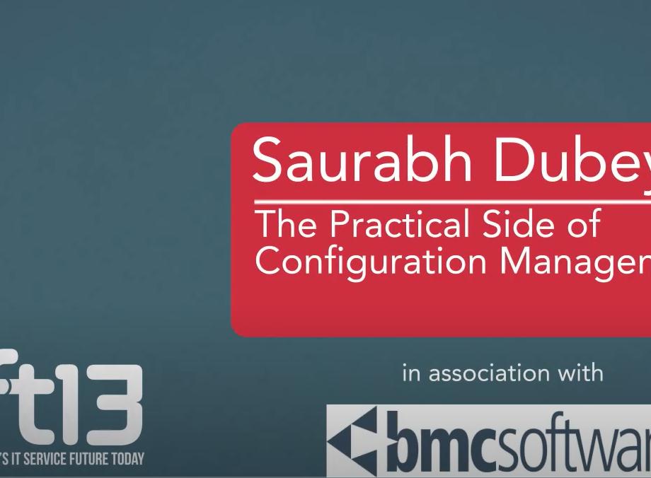 Saurabh presenting a deck